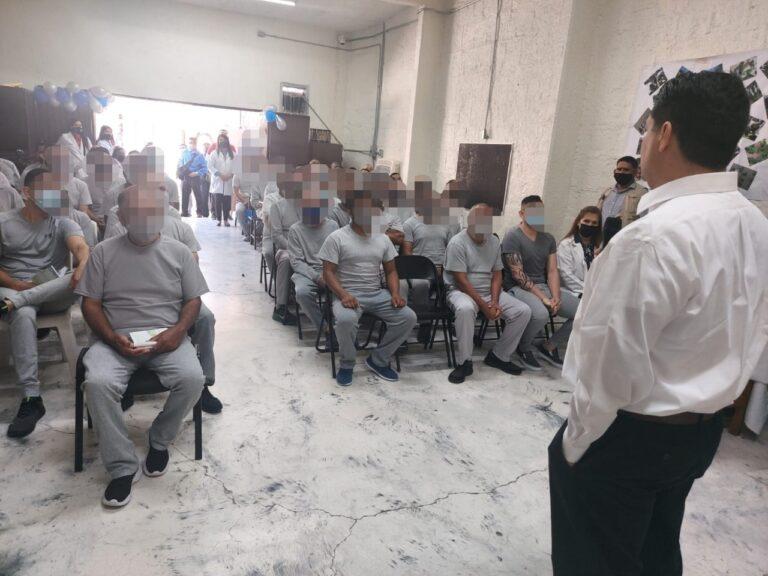 """Concluyen 64 personas privadas de la libertad el taller """"Camino a la Felicidad"""""""
