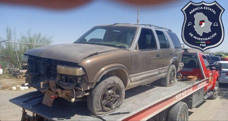 Arresta AEI a masculino en posesión de dos vehículos con reporte de robo