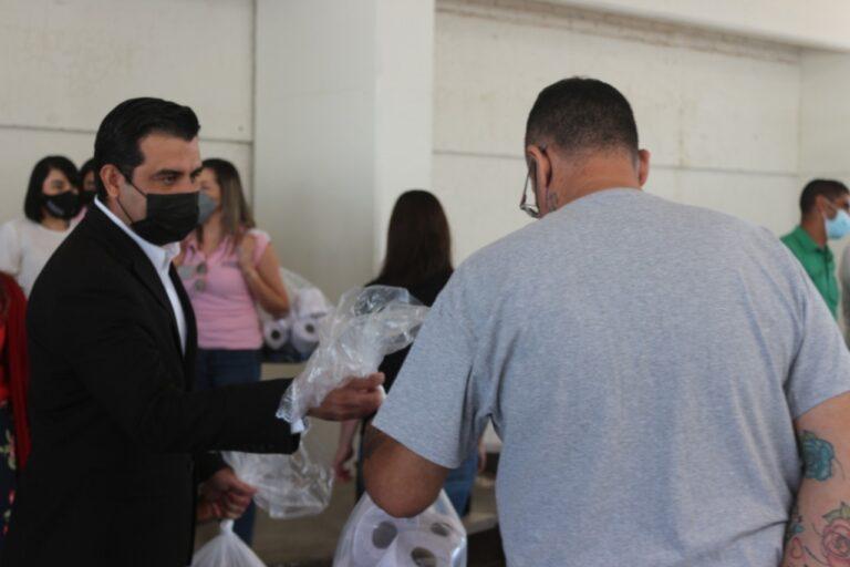 Entrega Auditoría Superior del Estado artículos de higiene a población penitenciaria del Cereso de Aquiles Serdán