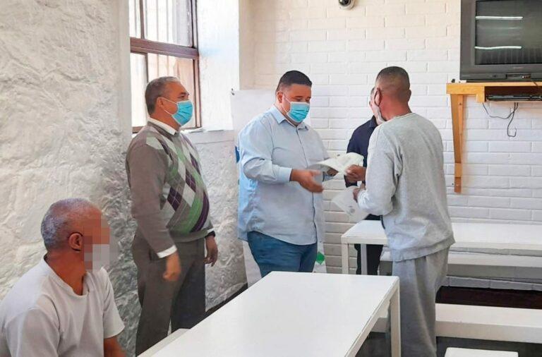 Entregan constancias de estudios a privados de la libertad en Cereso de Guachochi